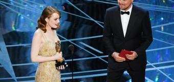 Politisk Oscar-aften med kæmpekiks